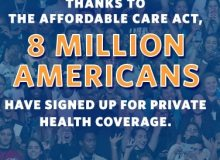 8 Million Affordable Care Act