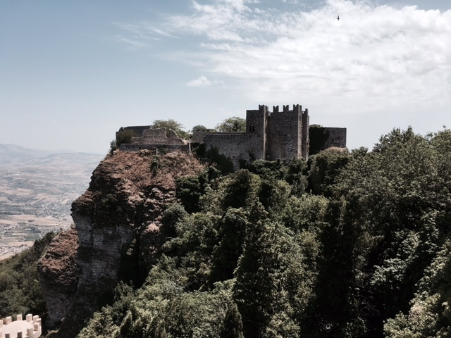 Mountain Top Castle, Erice, Sicily