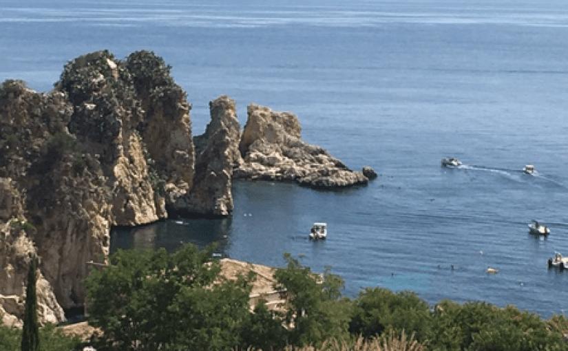View of Fragalioni Scopella Sicily
