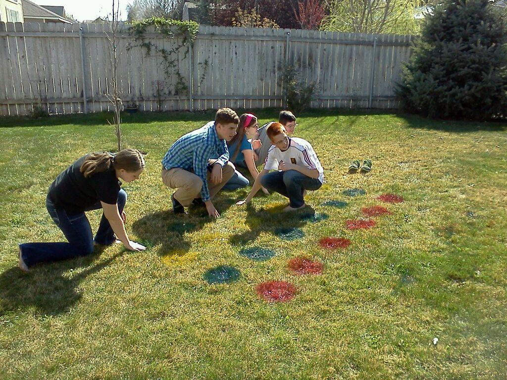 Lawn Twister Fun Party Game Idea Consumerqueencom