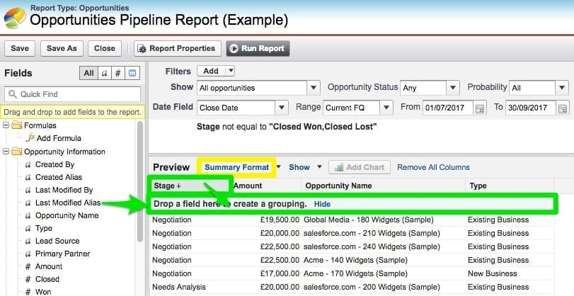 Creating Reports in Salesforce A Beginner\u0027s Guide for 2018