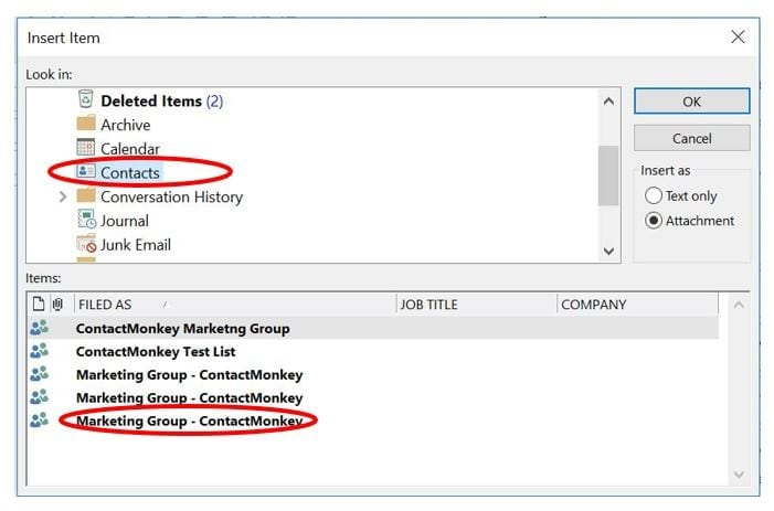 Create an Outlook Distribution List  Track For Employee Engagement