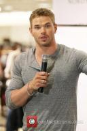 Kellan Lutz makes an appearance at Norstroms at The Grove to promote a clothing line