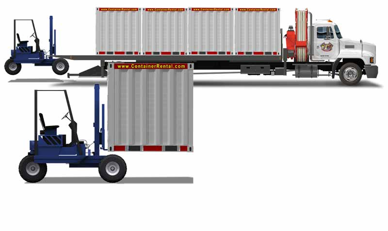 Delivery And Pickup Services For Storage Containers