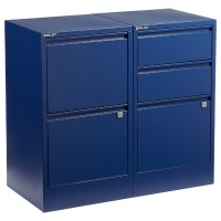 Oxford Blue Bisley 2- & 3-Drawer File Cabinets | The ...