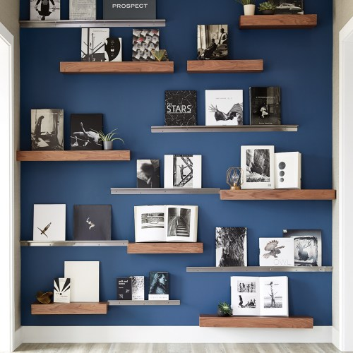 Medium Of Pictures Of Wall Shelves