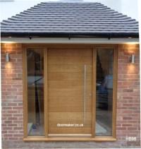 Contemporary Front Doors, oak iroko and other woods ...