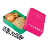 Happy Jackson Lunch Box | Pink and Green