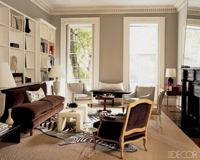 7 Stunning Living Room Rugs In ELLE Decor That You Will Want To Steal - elle decor living rooms