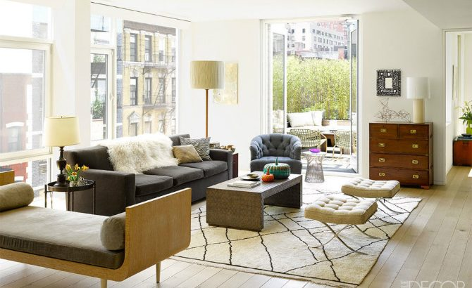 7 Stunning Living Room Rugs In Elle Decor That You Will Want To Steal