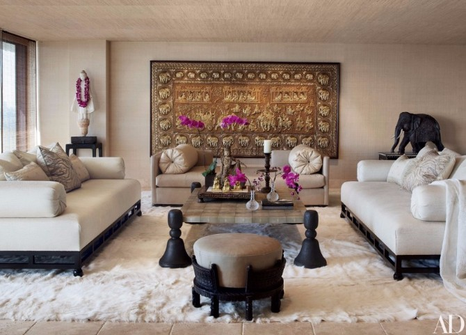 7 Beautiful Ways To Style A Fur Rug In Your Living Room Set - beautiful living room sets