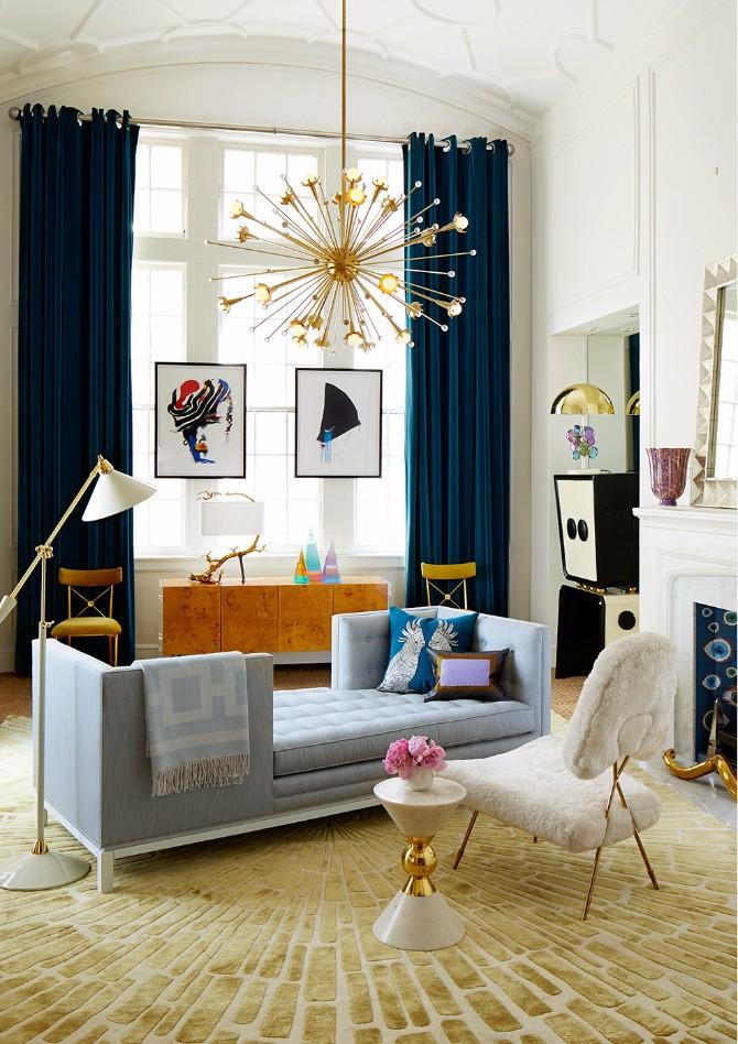 9 Tips On How To Style Modern Rugs Like Jonathan Adler - living room rugs modern