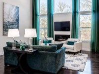 creative-brown-and-turquoise-living-room-2017-decoration ...