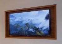 Design Tip - Recess A TV Above A Fireplace   CONTEMPORIST