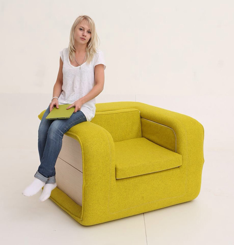 chair fold out bed pull out sleeper chair foter the chair is upholstered in 100 wool - Fold Out Sleeper Chair