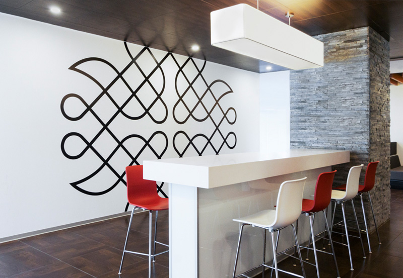 3d Wallpaper For Home Wall Bangalore All The Wall Graphics In This Office Were Inspired By