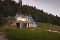This House Is Built Into A Hillside In France