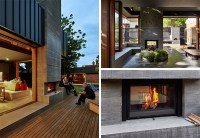 13 examples of how to include a double-sided fireplace ...