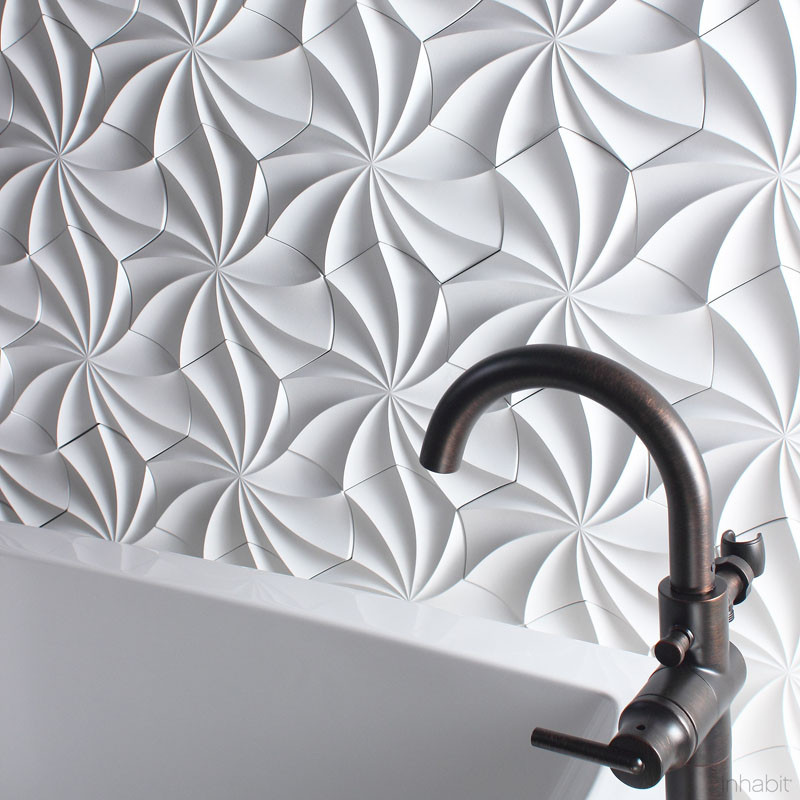Paperforms 3d Wallpaper Tiles 25 Creative 3d Wall Tile Designs To Help You Get Some