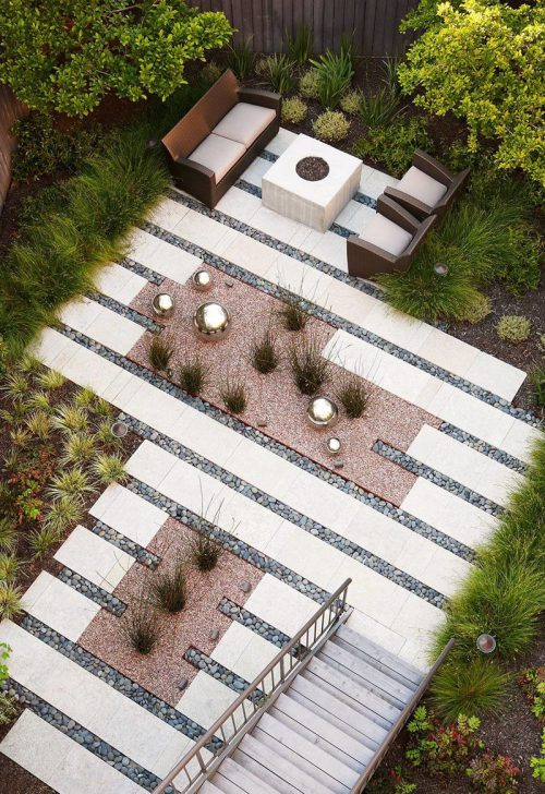 Medium Of Sample Backyard Landscape Designs