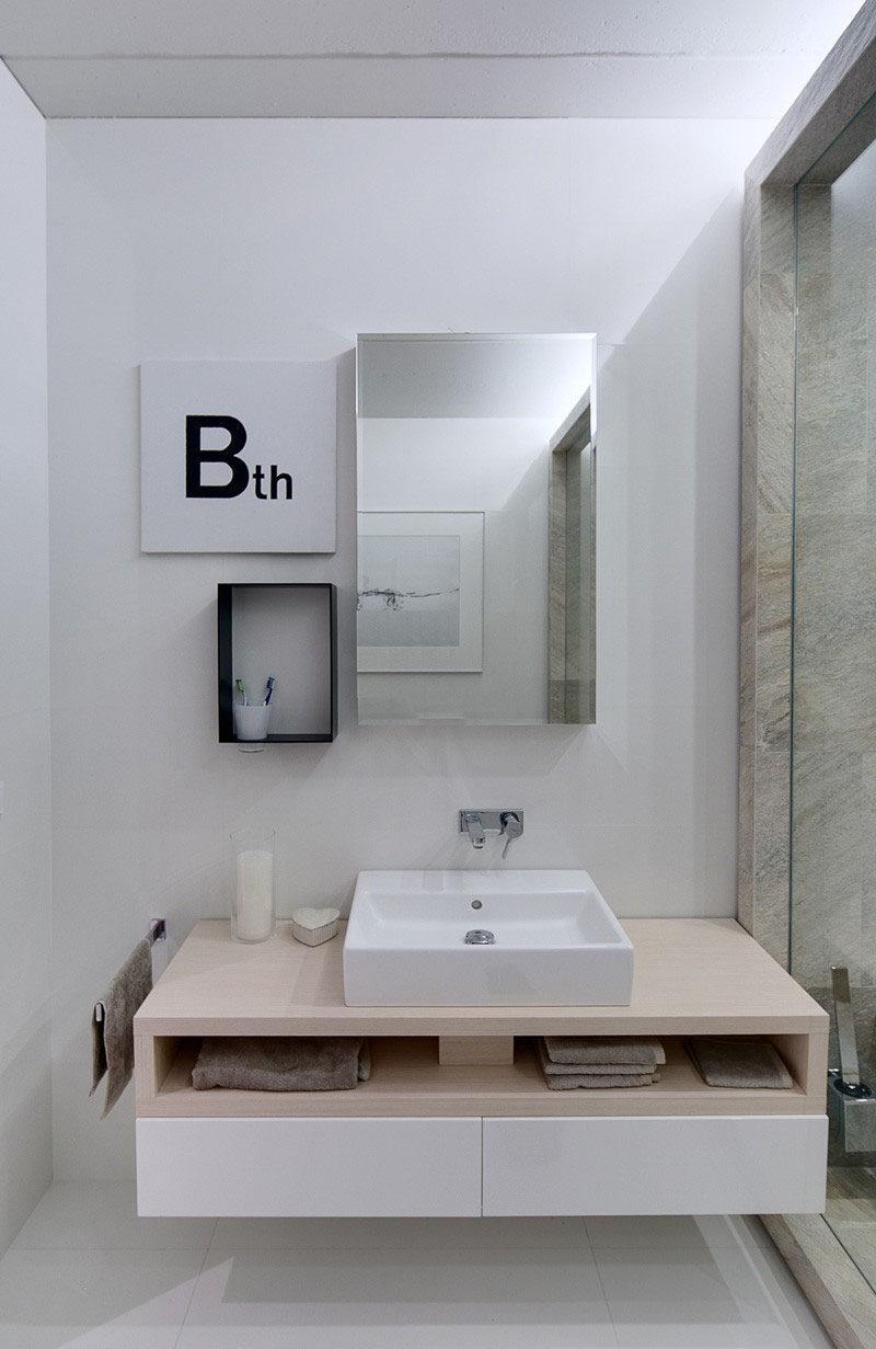 Classy Bathroom Vanities That Have Open Shelving Contemporist Bathroom Vanities That Have Open Shelving This Bathroom Has Opening Examples Examples bathroom Contemporary Bathroom Shelves