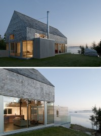 13 Examples Of Modern Houses With Wooden Shingles ...