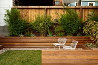 12 Ideas For Including Built-In Wood Planters In Your ...