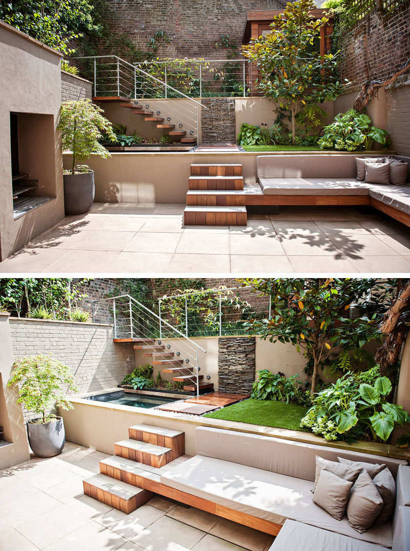 Regaling A Summer Backyard Backyards To Get You Inspired Backyards To Get You Inspired A Summer Backyard Small Landscaped Backyards outdoor Small Landscaped Backyards