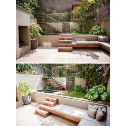 Small Crop Of Small Landscaped Backyards