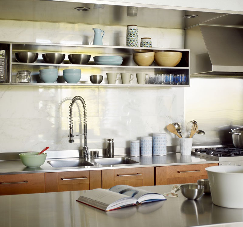 Kitchen Design Idea 19 Examples Of Open Shelving