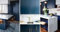 Kitchen Design Idea - Deep Blue Kitchens | CONTEMPORIST