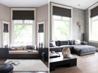 Decorating  Contemporary Window Coverings - Inspiring ...