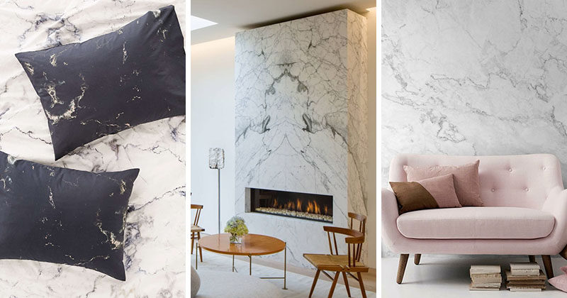 Interior Design Idea - 7 Ways To Bring A Touch Of Marble To Your