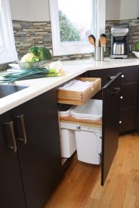 Kitchen Design Idea - Hide Pull Out Trash Bins In Your ...
