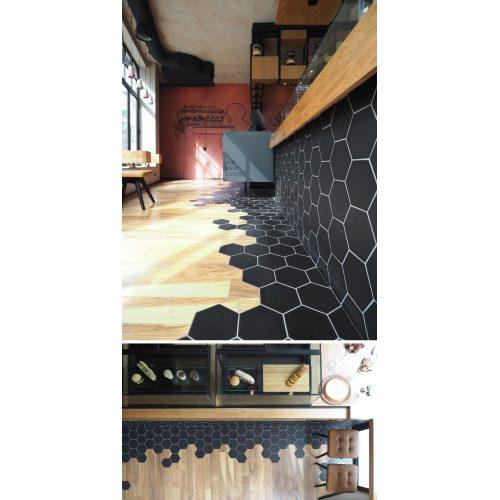 Medium Crop Of Black Hexagon Tile