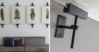 Wall Art Display Ideas - These contemporary industrial ...