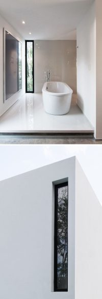 Window Style Ideas - Narrow Vertical Windows | CONTEMPORIST