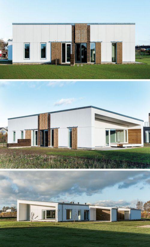 Medium Of Farmhouse Home Designs