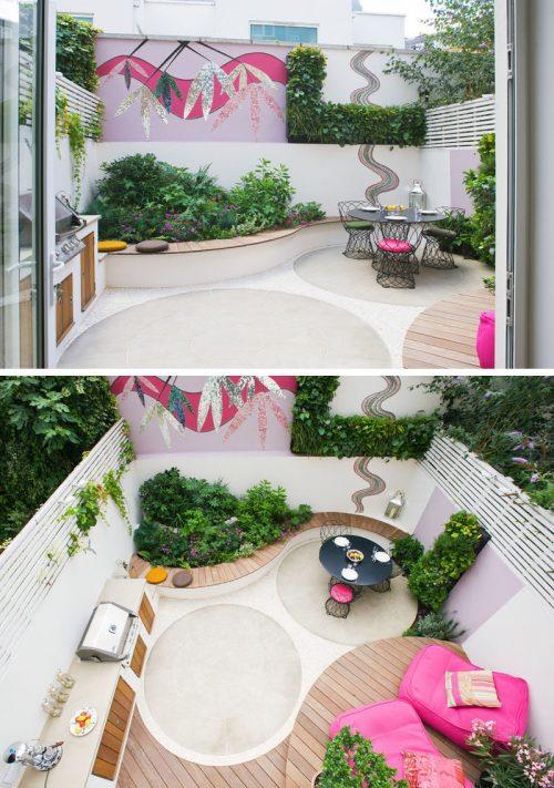 Medium Of Backyard Ideas Patio
