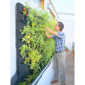 Joyous Beginners Contemporist Upright Garden Planters Vertical Vegetable Garden Ideas Beginners Using Felt Pockets Is A Way To Vertical Vegetable Garden Ideas