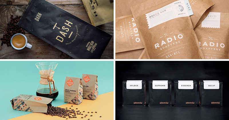 15 Creative Coffee Packaging Ideas For Graphic Designers CONTEMPORIST - creative packaging ideas
