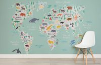 10 World Map Designs To Decorate A Plain Wall | CONTEMPORIST