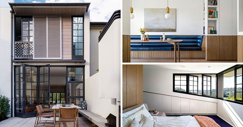 The Contemporary Redesign Of A 1950s House In Sydney CONTEMPORIST Row House  Interior DesignRow House Interior Design Downtown Row House Renovation