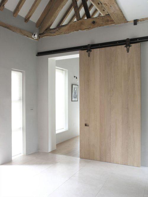 Medium Of Modern Barn Door