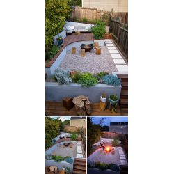 Fanciful Entertaining Landscape Design Jesse Callaway Landscape Design Ideas Front Yard This Landscaped Backyard Has A Raised Outdoor Lounge A Woodburning This Small Backyard San Francisco Was Designe outdoor Modern Landscaping Design