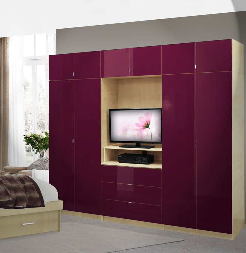 Aventa Bedroom Wall Unit X