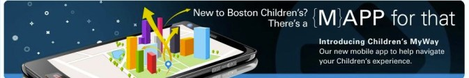 content creators, Boston Children's Hospital app