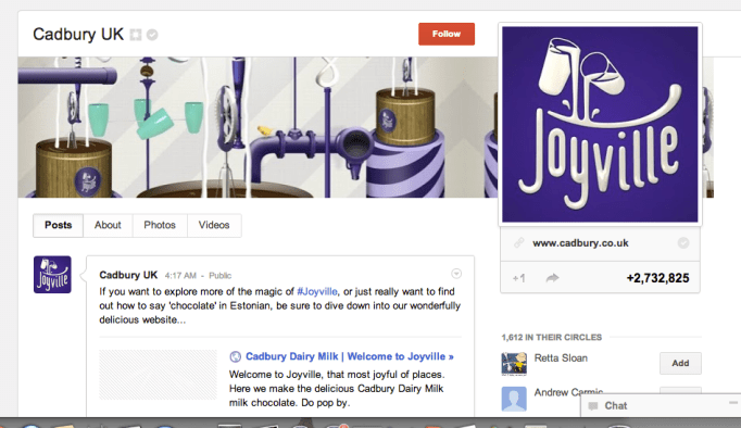 Cadbury, content marketing best practices