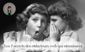 secrets rédacteurs web