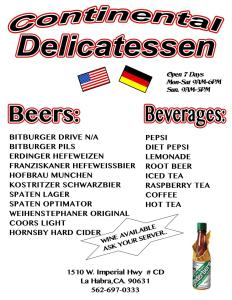 Continental Beer list-1-page-001